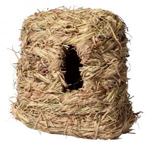 Nagertunnel aus Gras