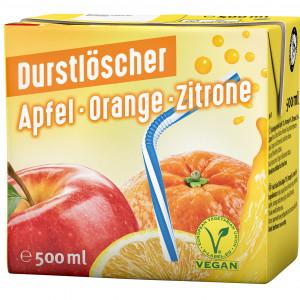 Durstlöscher Apfel-Orange-Zitrone, 500ml