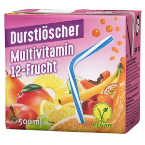 Durstlöscher Multivitamin 12-Frucht, 500ml