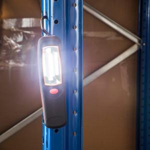 LED Arbeitslampe mit Haken und Magnet