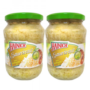 Sauerkraut, pasteurisiert 2×720 ml