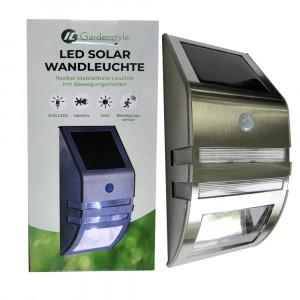 LED Solar Wandleuchte