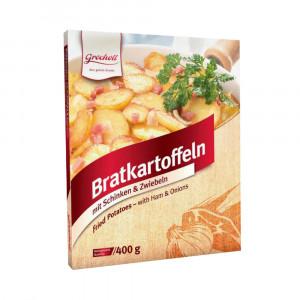 Bratkartoffeln mit Schinken & Zwiebeln, 400g